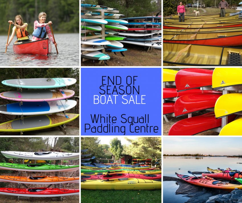 End of Season Boat Sale on Now!
