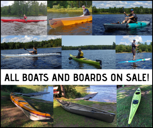 All our boats are on sale!