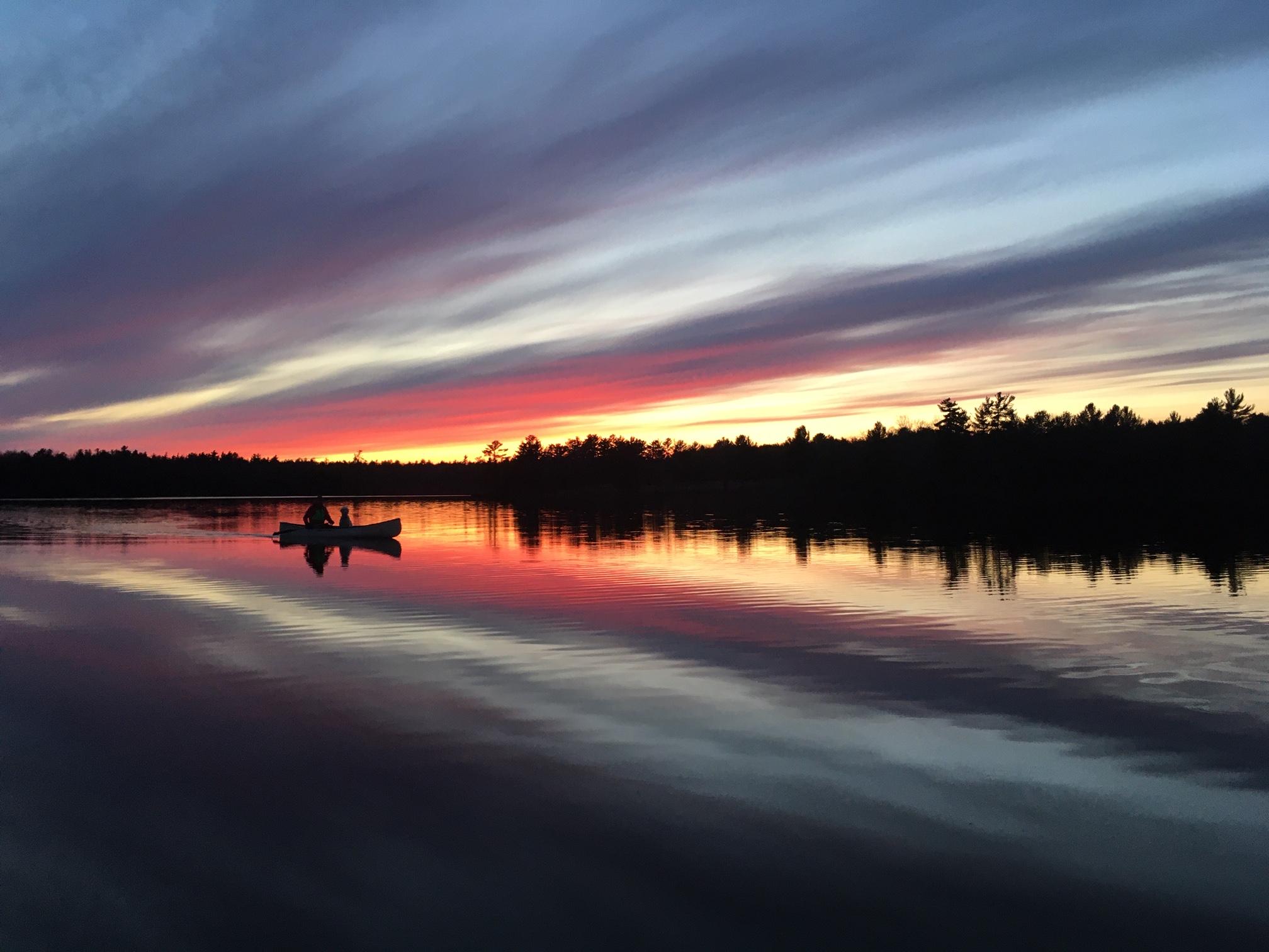 Cole Lake Sunset