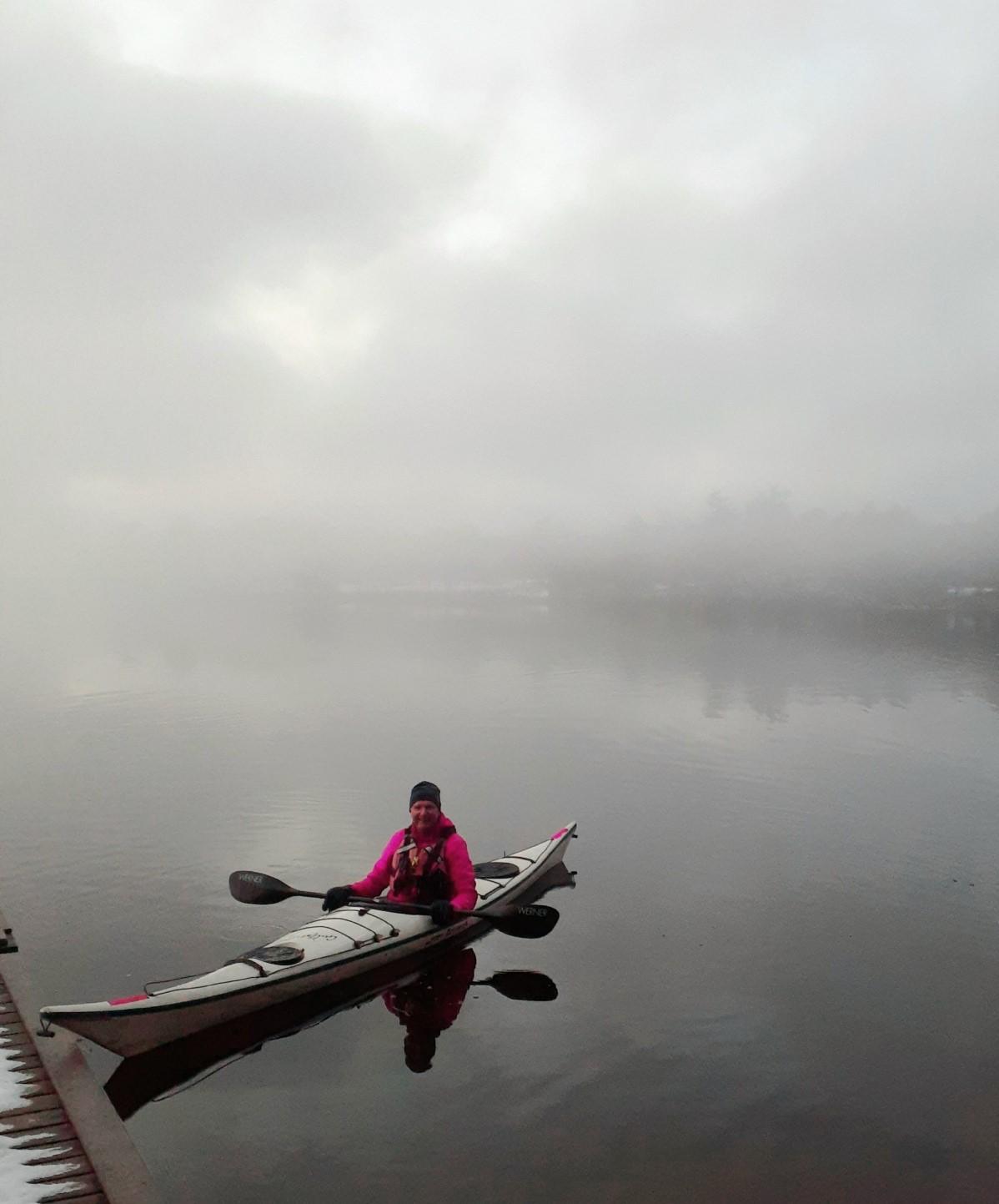 Tim Dyer Kayak Cole Lake
